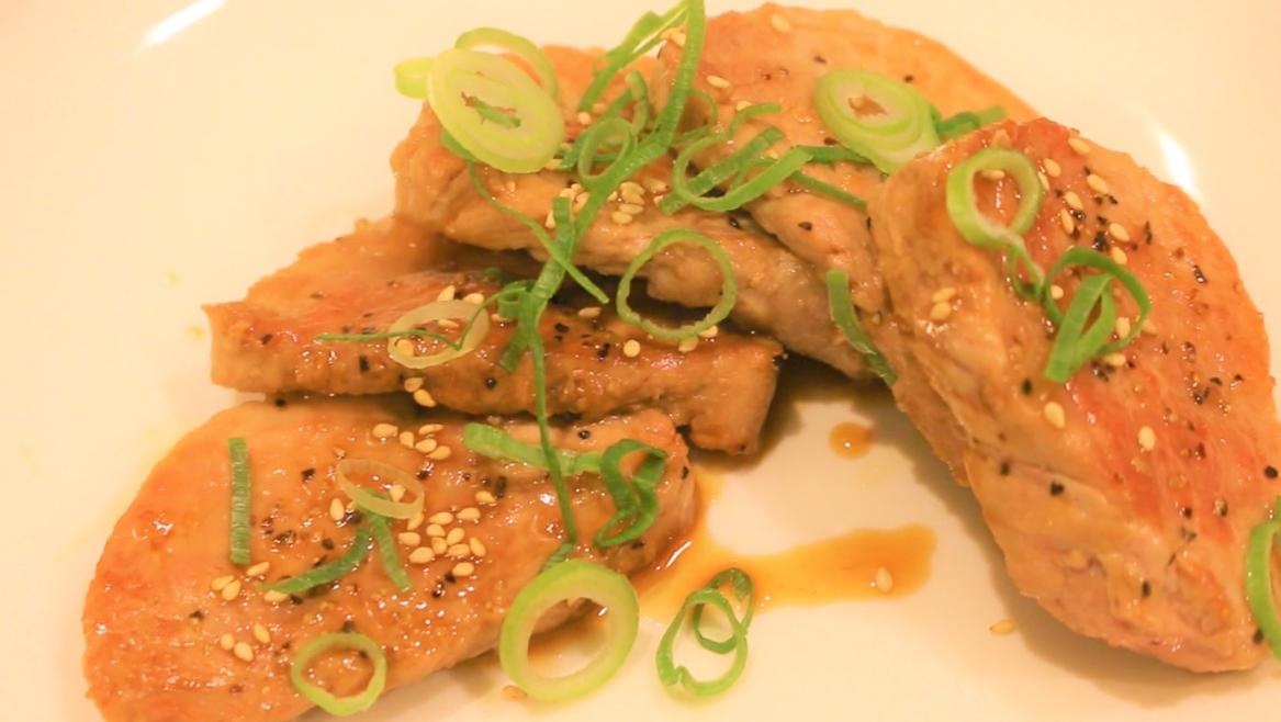 豚ヒレ肉のゆずポン酢ステーキ まとめ用